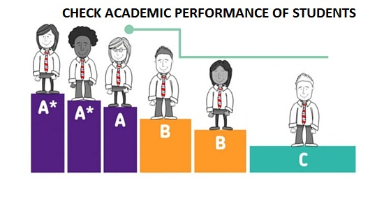 How to evaluate the academic performance of students